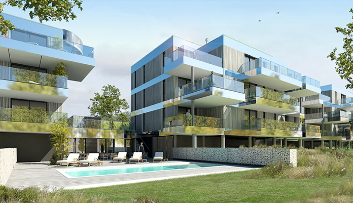 Patrice azria lance une r sidence de prestige 100 brestoise for Groupe immobilier prestige
